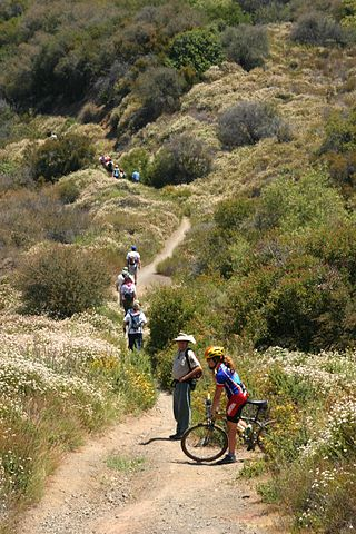 Trail - Image Credit: http://en.wikipedia.org/wiki/File:Hikers_on_the_Backbone_Trail.jpg
