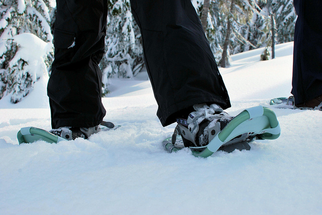 Snowshoeing - Image Credit: https://www.flickr.com/photos/kneoh/5508701344