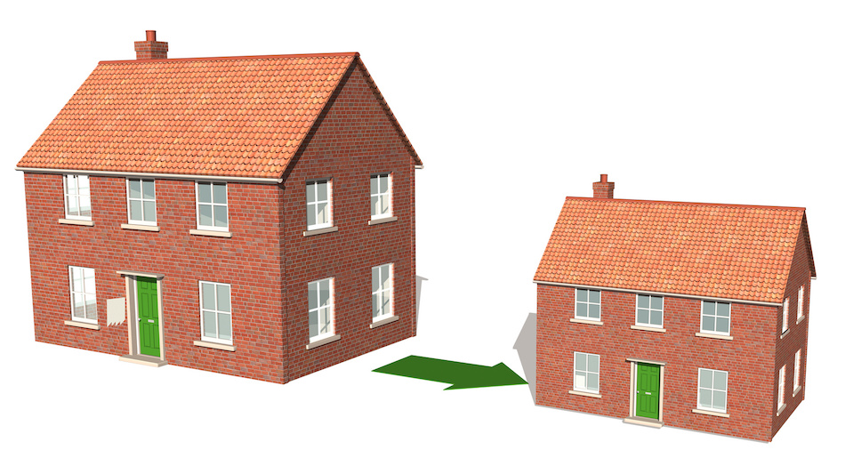 Downsizing to a Smaller Home or Apartment